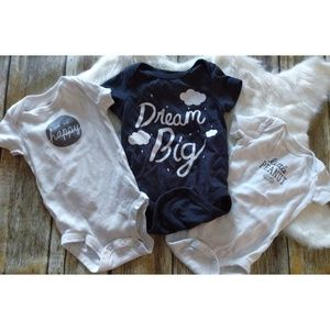 Baby Gray and White 6m lot.    #0866